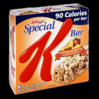 Special K® Kellogg Calories Peaches & Berries Cereal Bars