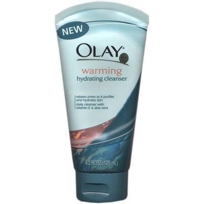 Olay Warming Hydrating Skin Cleanser Cream, 4.2 Oz