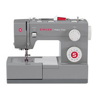 Singer Sewing Co. Singer Sewing 4432 Heavy Duty Extra-High Speed Sewing Machine with Metal Frame and Stainless Steel Bedplate [Standard Packaging, 4432 with 32 Stitches]