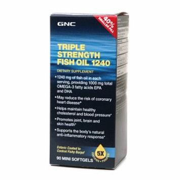 GNC Triple Strength Fish Oil 1240