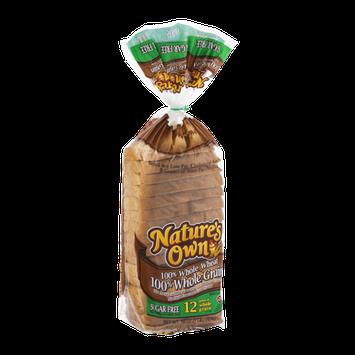 Nature's Own 100% Whole Wheat 100% Whole Grain Bread