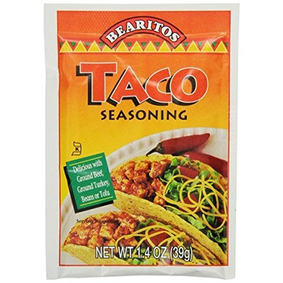 Little Bear Bearitos Taco Seasoning, 1.4 Ounce (Pack of 12)