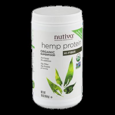 Nutiva Hemp Protein Hi-Fiber