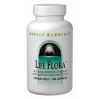 Source Naturals Life Flora 300mg 3 Billion Cells 120 caps