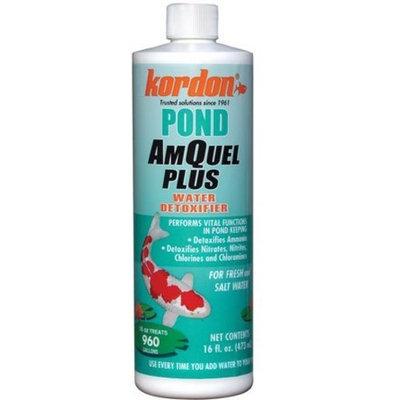 KORDON/OASIS NOVALEK KORDON #30021 Pond Amquel Plus-Pond Water Conditioners for Aquarium, 1-Gallon