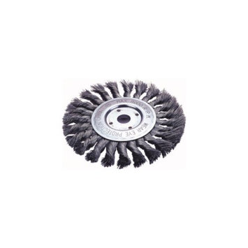 FirePower Firepower 1423-2120 Knotted Wheel Brush 6-inch Diameter