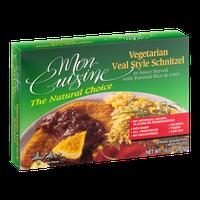Mon Cuisine Vegetarian Veal Style Schnitzel