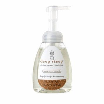 Deep Steep Foaming Hand Wash, Brown Sugar Vanilla, 8 fl oz