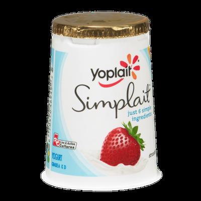 Yoplait® Simplait Strawberry Yogurt