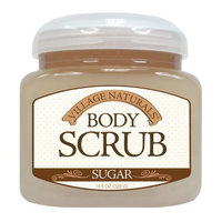Village Naturals Sugar Body Scrub 11.5 Oz