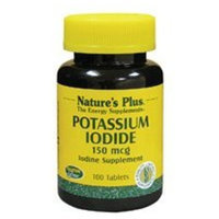 Nature's Plus - Potassium Iodide 150mcg - 100 Tablets