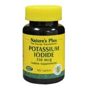 Nature's Plus - Potassium Iodide 150mcg - 100 Tablets