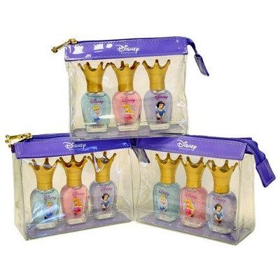 3 Sets for 1 Price - Disney Princess Gilmmer Nail Shine Set - Snow White, Sleeping Beauty, Cinderella
