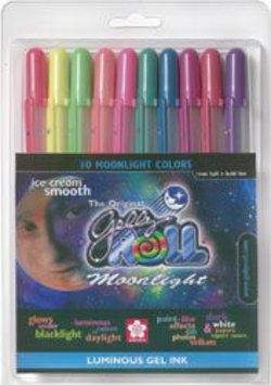 Sakura 38176 Gelly Roll Moonlight Bold Point Pens 10/Pkg