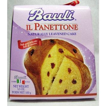 Bauli Il Panettone Traditional Italian Holiday Cake, 3.5 oz