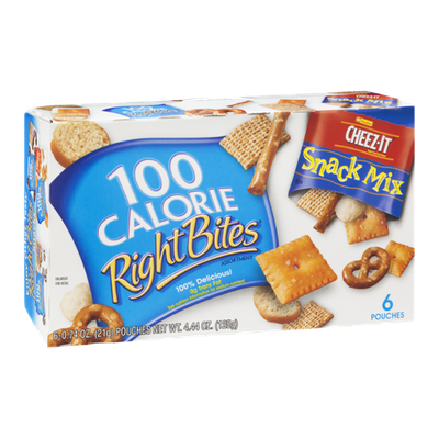 100 Calorie Right Bites Cheez-It Snack Mix - 6 CT