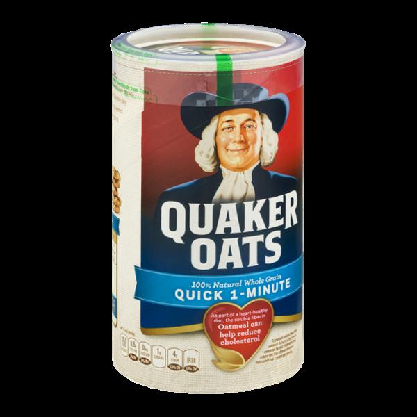 Quaker Oats Quick 1 - Minute Oats