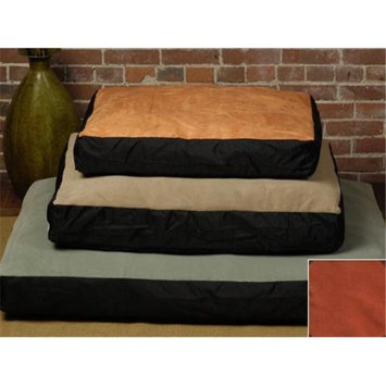 The Shrimp 3659 - Original Large Bed - Faux Suede - Paprika