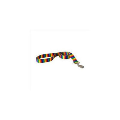 Yellow Dog Design Rainbow Stripes Lead