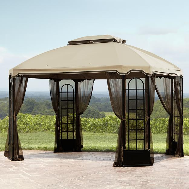 Essential Garden Replacement Canopy for Terrace Gazebo - SIERRA ACCESSORIES
