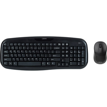 Micro Innovations Wireless Classic Keyboard with Optical Mouse