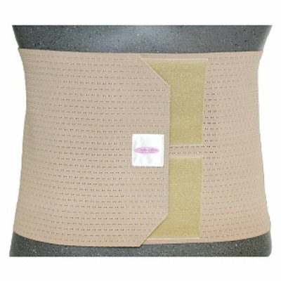 Gabrialla Post-Partum Abdominal Support Binder for women, 9in Wide, 2X-Large, Beige, 1 ea