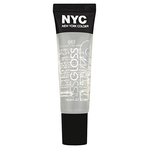 NYC New York Color NYC Kiss Gloss, Clear as Can-dy 530, 0.31 fl oz (9.4 ml)