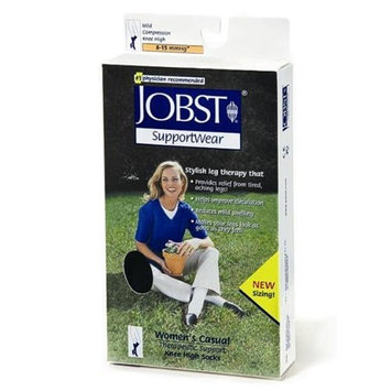 Jobst - Women's CASUAL Mild Compression Over-the-Calf (Knee High) XSWhite