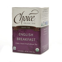 Choice Organic Teas Black Tea English Breakfast