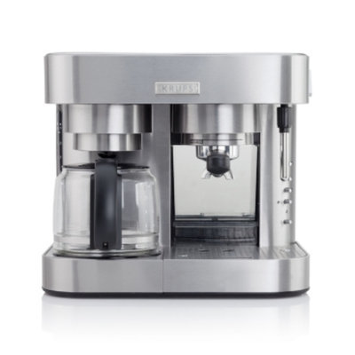 Krups Stainless Steel Combi Coffee & Espresso Maker