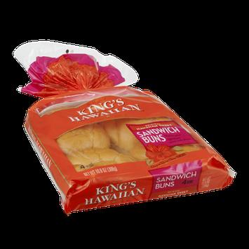 King's Hawaiian Sandwich Buns - 4 CT