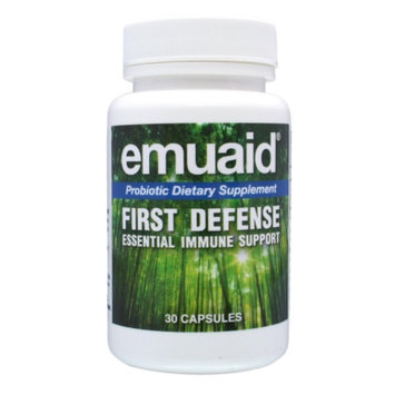Emuaid First Defense Probiotic Dietary Supplement, Capsules