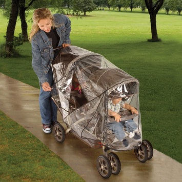 Jeep Deluxe Tandem Stroller Weather Shield - 1 ct.