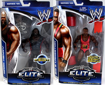 Mfg Id For Dot.com Items PACKAGE DEAL Mark Henry & Big E Langston - WWE Elite 26 Toy Wrestling Action Figures