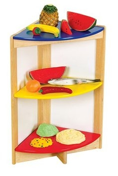 Guidecraft Color Bright Kitchen Side Shelf