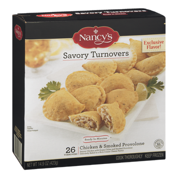 Nancy's Savory Turnovers Chicken & Smoked Provolone - 26 CT