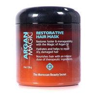 Argan Magic Restorative Hair Mask 8 Oz. Jar by Jocott Brands [1 Pack]