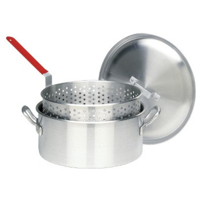 Barbour International Bayou Classic 14 Qt Boiler/Fryer - Silver