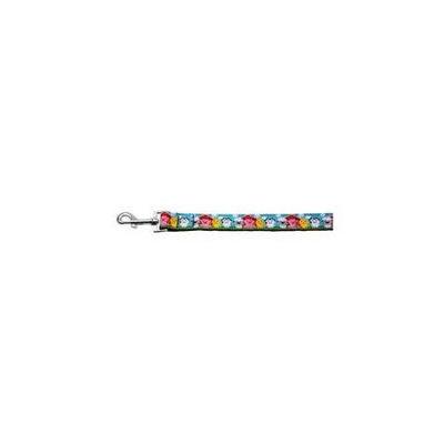 Mirage Pet Products 125-023 1006 Barnyard Buddies Nylon Ribbon Collars 1 wide 6ft Leash