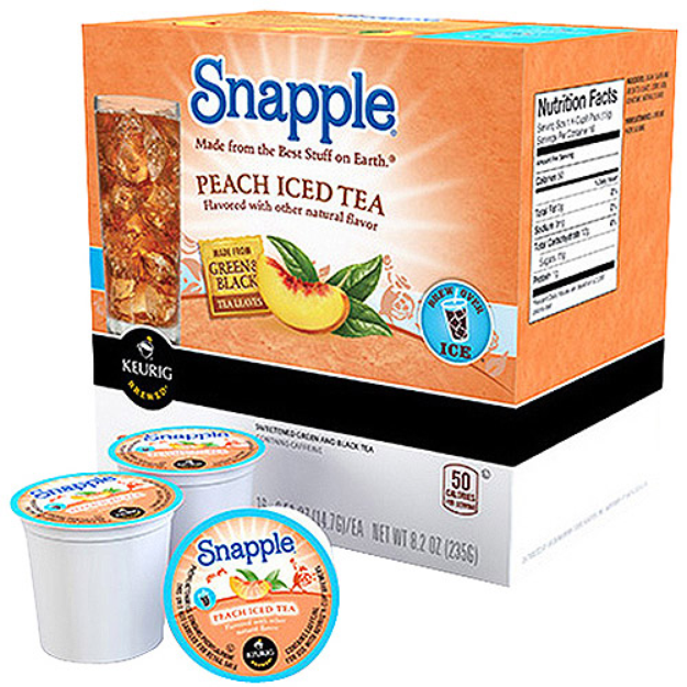 Keurig Snapple Iced Tea Peach 16ct