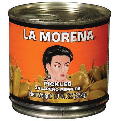 La Morena Pickled Jalapeno Peppers, 13.13 oz