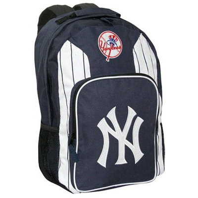 Concept One MLB New York Yankees Team Color Backpack - School Supplies