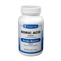 De La Cruz Boric Acid Powder 4 OZ.