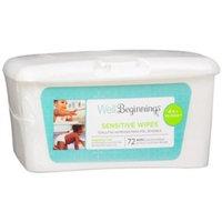 Walgreens Premium Baby Wipes, Sensitive, 72 ea