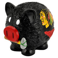 Optimum Fulfillment NHL Chicago Blackhawks Piggy Bank - Large