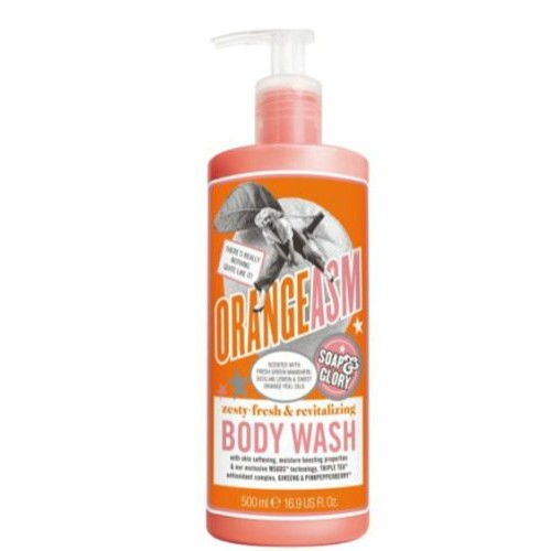 Soap & Glory Soap And Glory Orangeasm Zesty Fresh & Revitalizing Body Wash 500ml