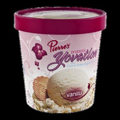 Pierre's Probiotic Yovation Vanilla Frozen Yogurt