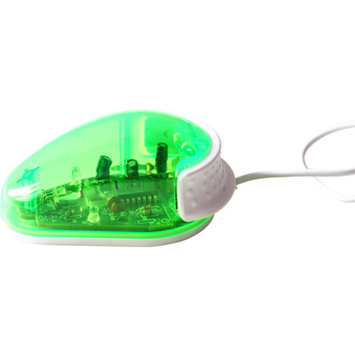 Ergoguys My Lil One Button Wired Mouse, Green