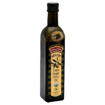 Halutza Olive Oil Premium Organic Extra Virgin, 17-Ounce Glass Bottle
