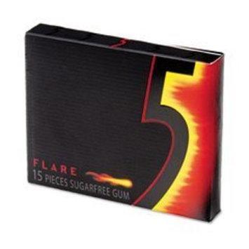 Office Snax® Office Snax® Wrigley'S '5' 15 Stick Sugar-Free Gum, Cinnamon, 3/Pack